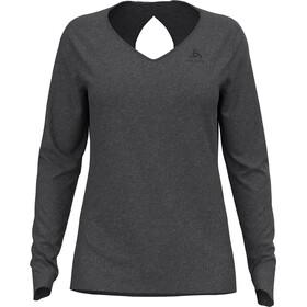 Odlo Halden Linencool T-Shirt L/S Crew Neck Women, dark grey melange